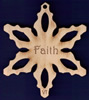 Faith Inspirational Snowflake