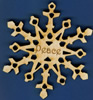 Peace Inspirational Snowflake