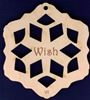 Wish Inspirational Snowflake Design 4