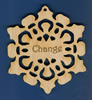 Change Inspirational Snowflake