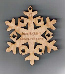 Wedding Snowflake