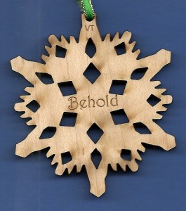 Behold Inspirational Snowflake Design 1