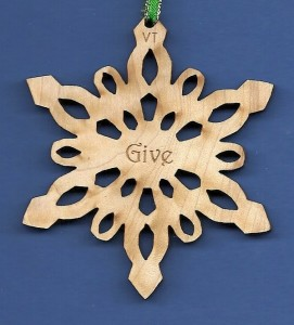 Give Inspirational Snowflake Design 5