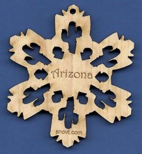 Saguaro Snowflake Arizona
