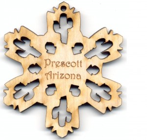 Saguaro Snowflake Prescott