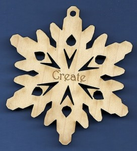 Create Inspirational Snowflake