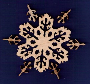 Gecko Snowflake