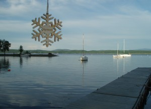 Snowflake at Apple Island Marina
