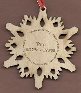 Memorial Snowflake #1
